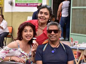 29042019 Gisela Morales, Teresa Muñoz y Gustavo Montes.