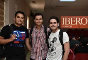 30042019 Emiliano Armendáriz, Jesús Monarrez y Diego Silva.