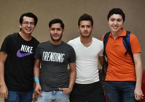 30042019 Juan, Carlos, Diego y Daniel.