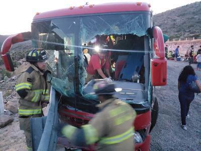 Seis personas resultaron lesionadas.