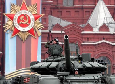 Tuvo lugar como todos los años en la Plaza Roja de Moscú.