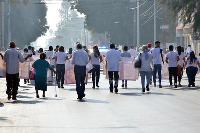 Madres de desaparecidos marchan en Torreón