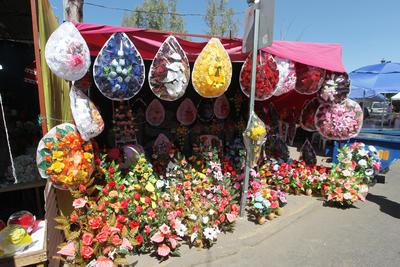 El panteón de Oriente de Durango, es uno de los lugares más visitados este Día de la Madre.