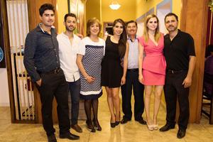 Pedro Jiménez, Bernardo Jiménez, Isolda de Jiménez, Isolda Jiménez, Mario Jiménez, Lupita Fajardo y Mario Jiménez