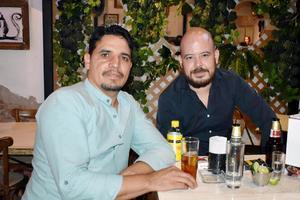 José Luis y Clem