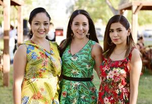 Karla, Lorena y Didre