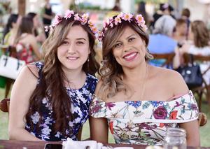 Martha Arreola y Cecilia Menéndez