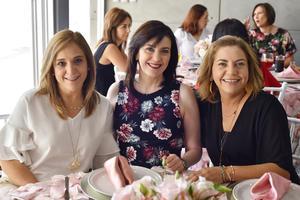 Sandra, Pilar y Geno