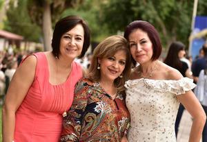 Verónica, Rocío y Rosy