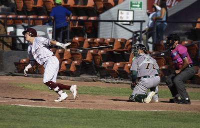 Miguel Guzmán elevó profundo hacia el central, donde Michael Crouse no pudo realizar el fildeo y permitió al corredor llegar hasta tercera base, desde donde anotó la del empate, gracias a un infield hit de José Félix.