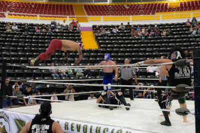 Explota el ring con Blue Demon Jr en Durango