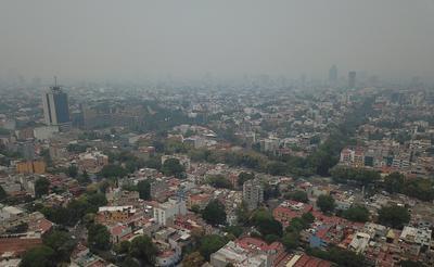 El índice de calidad del aire pasó de ser de 'malo' a 'muy malo'.