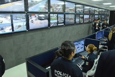 Estas 105 cámaras de vigilancia se sumarán a las 400 cámaras de videovigilancia con tecnología de última generación que instalará el Gobierno del Estado en la Comarca Lagunera con el propósito de reforzar la seguridad.