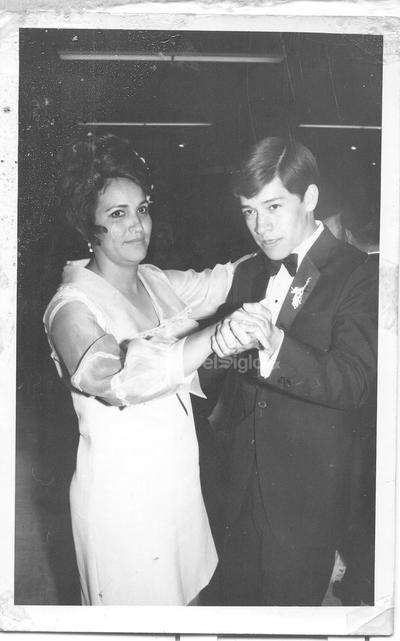 1970. Rosa María Sánchez y Javier Verdeja.