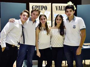 20052019 FERIA DEL EMPRENDEDOR.  Juan Pablo, Pablo, Claudia, Hannan y Tony.