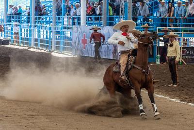 Por la tarde saltaron al lienzo Rancho Quevedeño, Charros de La Laguna y Valle de Saltillo.