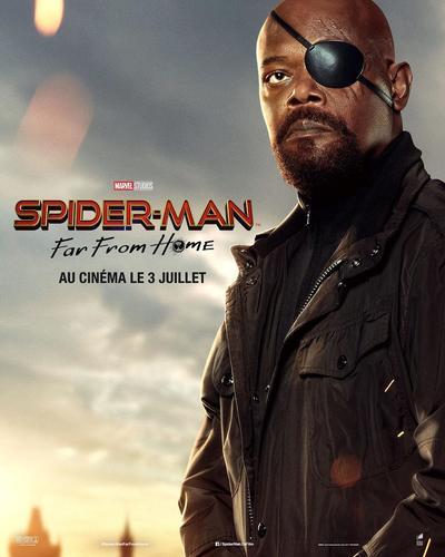 Samuel L. Jackson es 'Nick Fury'.
