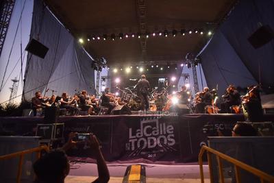 La Camerata de Coahuila abrió la cartelera del evento.