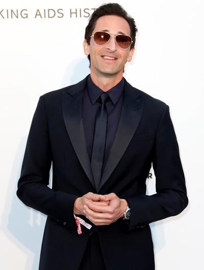 El actor estadounidense Adrien Brody.