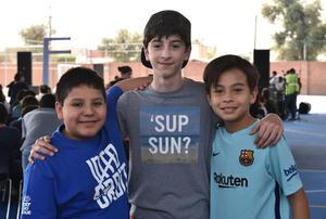 24052019 Jorge Antonio, Santiago y Derek.
