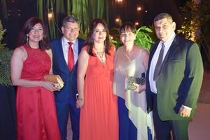 Paty, José, Lourdes, Sofía y Ernesto
