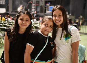 Paulina, Sara y Valeria