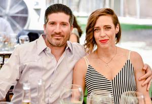 Alejandro Martínez y Gabriela Villarreal
