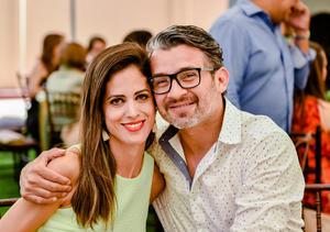 Mónica Román y GC Domínguez