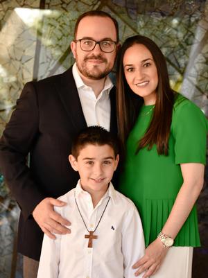 Alberto, Mariana y Javi