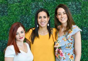 Cecilia González, Graciela Alday y Cecilia Flores