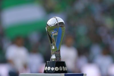 _CGR8334  LEON, MEXICO - MAYO 26: Trofeo de Campeon durante el juego de vuelta de la Final del Torneo Clausura 2019 de la Liga Bancomer MX en el Estadio Nou Camp el 26 de Mayo de 2019 en Leon, Mexico (Foto: Cesar Gomez/JAM MEDIA)