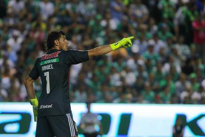 _CGR9044  LEON, MEXICO - MAYO 26: Nahuel Guzman Portero del Tigres durante el juego de vuelta de la Final del Torneo Clausura 2019 de la Liga Bancomer MX en el Estadio Nou Camp el 26 de Mayo de 2019 en Leon, Mexico (Foto: Cesar Gomez/JAM MEDIA)