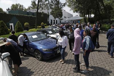 De las camionetas del EMP que más fondos recaudó fue una Chevrolet Suburban modelo 2013 con un nivel de blindaje VI, que se vendió en un millón 116 mil pesos.