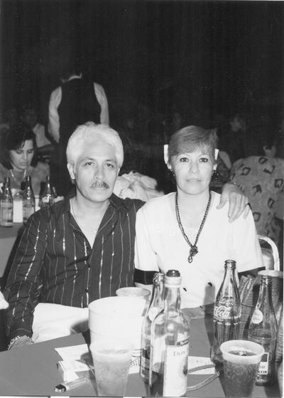 Daniel Vázquez y Lita de Vázquez en San Isidro, hace algunos años.