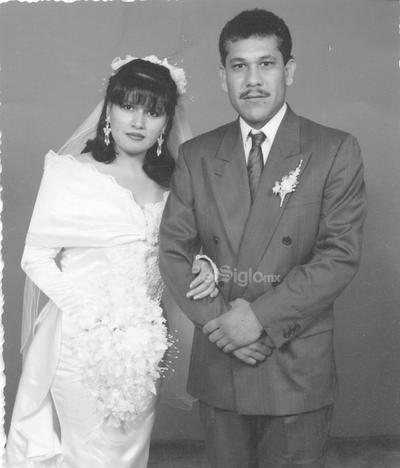 Olimpia de Santiago y Gerardo Rodríguez. 23 de mayo de 1992.