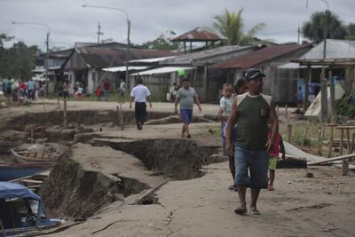 Un fuerte sismo golpeó Perú.