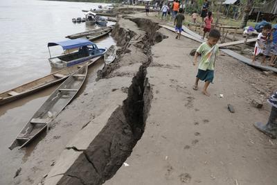 El sismo ocurrió la amazónica región de Loreto, en el norte de Perú.