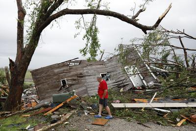 Destrozó viviendas.