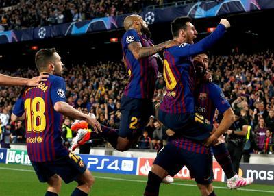 Barcelona puso un pie en la final de la Champions League.