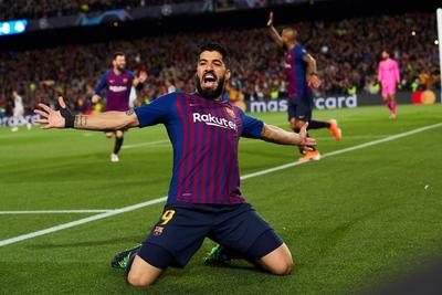 Suárez también anotó.