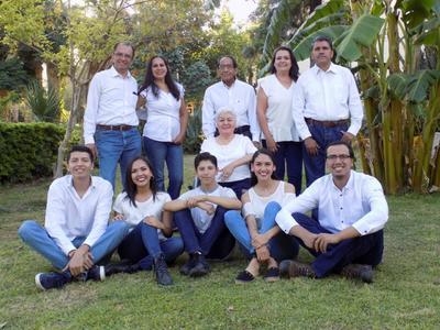 Familia Alemán Cuéllar.