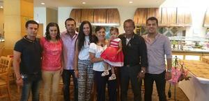 02052019 CELEBRAN.  Dorian, Erika, Adrián, Rocío, Yolanda, Emma, Carlos B. y Carlos Francisco.