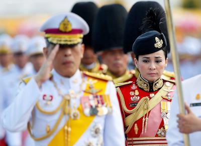 Tailandia amaneció .con una nueva soberana.
