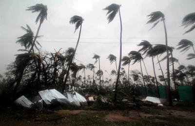 El ciclón era calificado como extremadamente severo.