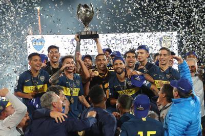Boca Juniors es campeón de la Supercopa Argentina