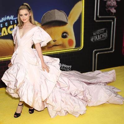 La actriz estadounidense Kathryn Newton asiste al estreno estadounidense de la película 'Pokemon Detective Pikachu'