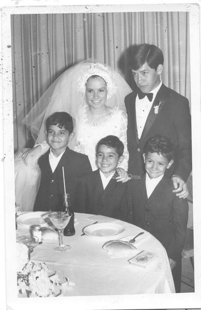 1970: Javier Verdeja Rosales y Cecilia Mora.