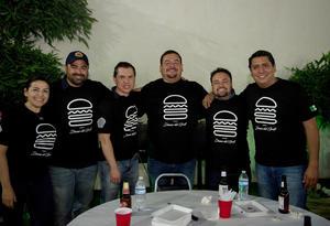06052019 Carolina, Jonás, Iván, Jorge, Gerardo y Darío.