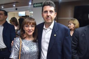 06052019 EN RECIENTE EVENTO.  Adrianela y Arsenio.
