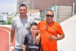07052019 Salvador, Rafael y Santiago Gurrola.
